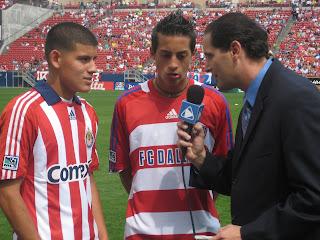 Ivan Kasanzew, Gabriel Funes, Briant Reyes, Sueno MLS