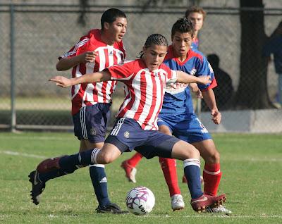 Gerson Mayen durante la Copa Internacional Chivas 2008