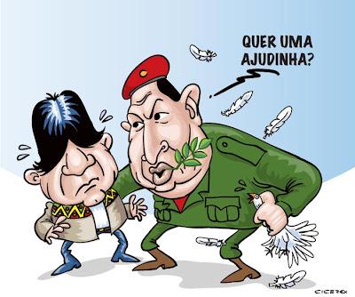 Chávez incitou Bolívia a tomar Petrobrás, diz diplomacia americana