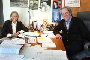 Beatriz de Moura y Antonio López Lamadrid