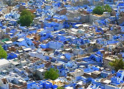 Jodhpur, Casa azules