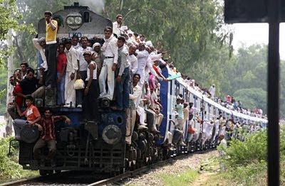 Tren Agra-Varanasi