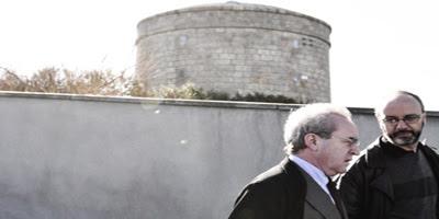 John Banville y Rodrigo Fresán. Torre Martello (Dublín)
