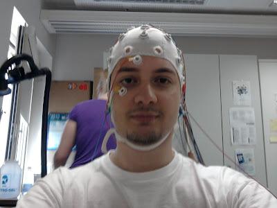Io durante l'esperimento. Punto di vista dell'Acer TM250PE