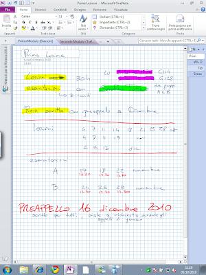 La stessa pagina su un secondo Tablet PC. Nessuna differenza, tutto l'inchiostro è posizionato al suo posto, come se il documento fosse stato appena creato su questo dispositivo