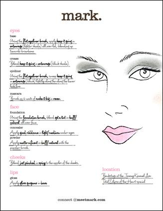 over top makeup. her top makeup tricks for