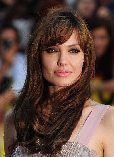 angelina jolie bangs