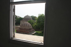 A room with a view, Hauz Khas Village