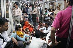 Cattle Class,  Delhi Metro