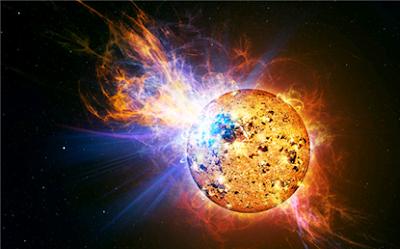 sun solar flares