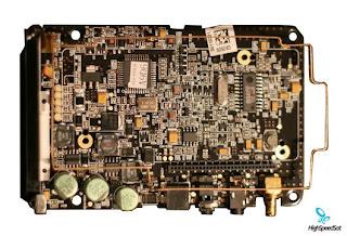 Inside Sirius satellite radio receiver