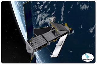 Iridium communication satellite