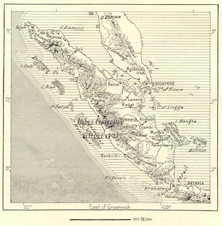 Peta Pulau Sumatra