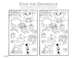 Spot The Difference Printable Worksheets For Kindergarten