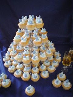 rose wedding cup cakes