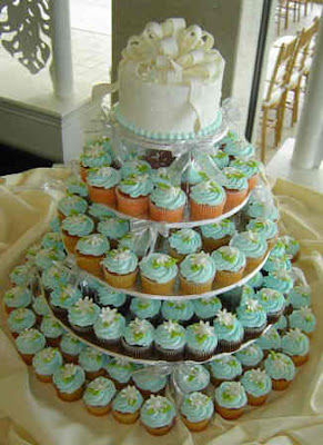 cupcake tree wedding cakes