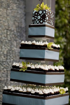 boxes wedding cake