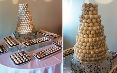 ball wedding cakes