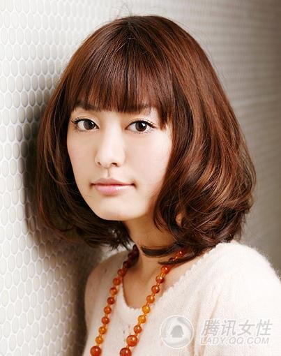 Japanese Woman Cool Hair Style
