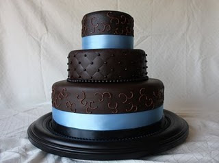 korean wedding cake photo