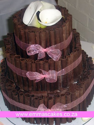 chocolate pasta to wedding cake