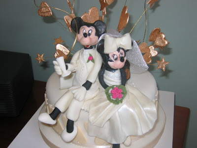 Groom Micky Mouse Cak