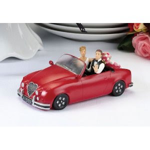 car wedding cake photo