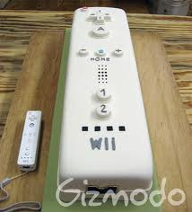 remote wedding cake