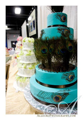 peacock cake ideas