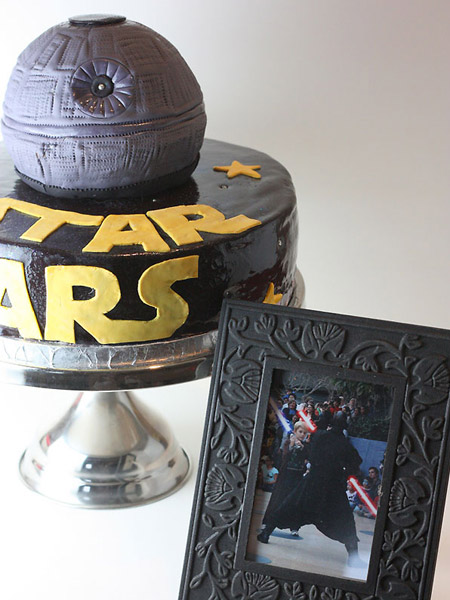 star wars cake designs. Star Wars Wedding Cake