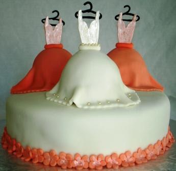 Bridal Shower Wedding Cakes:Wedding