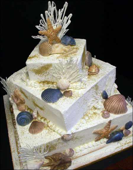 san diego wedding cakes shaped square wedding cakes decorated with