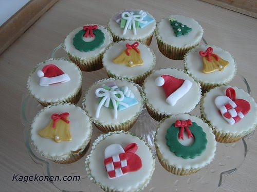 Christmas Cupcakes Pictures:Wedding