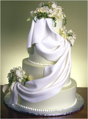 Draped Wedding Cakes