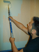 Paint over wallpaper? Yes.