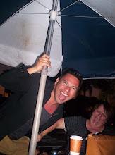 breaking the umbrella!