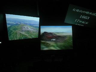 火山博物館シアター
