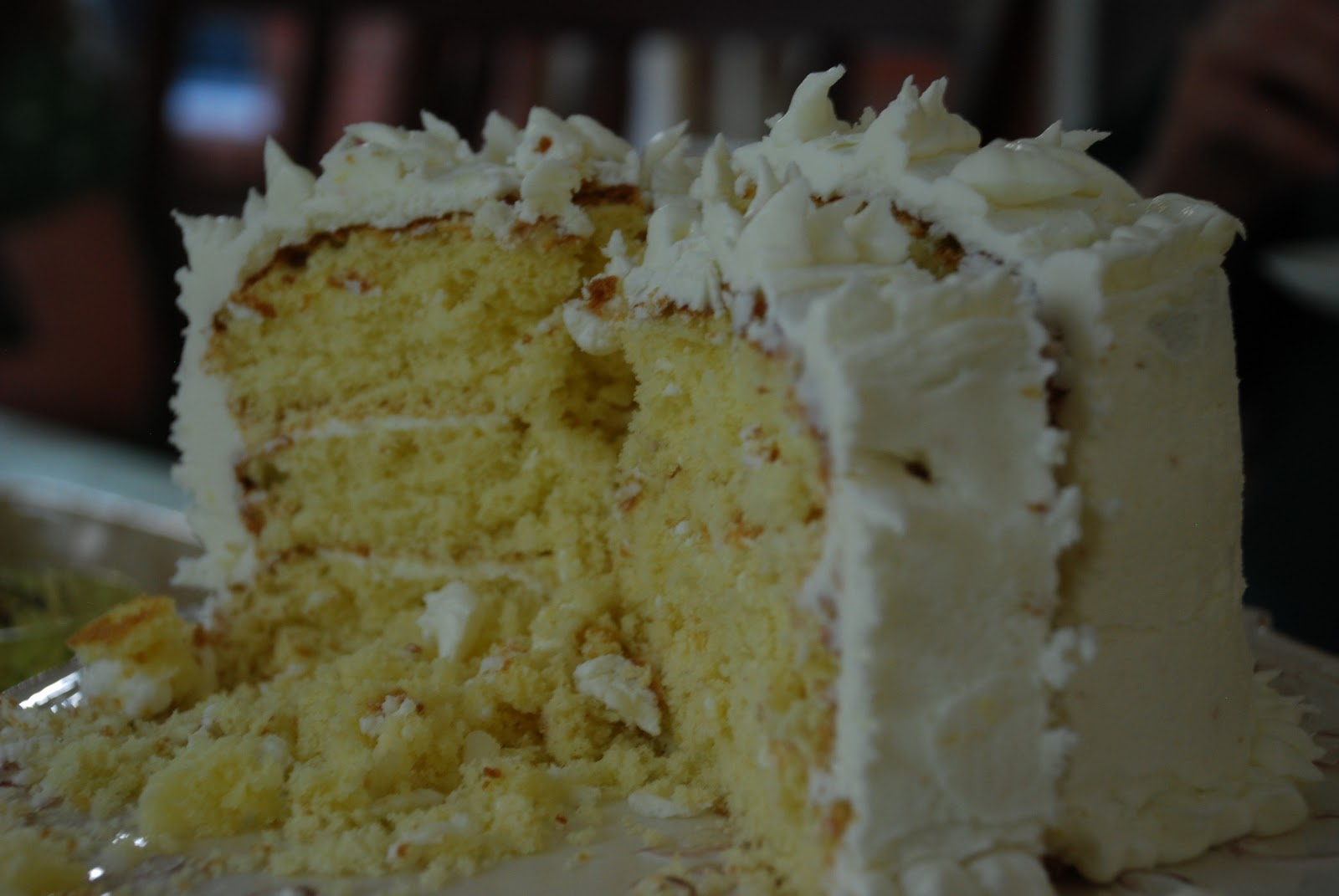 Luscious Lemon Cake Southern Living