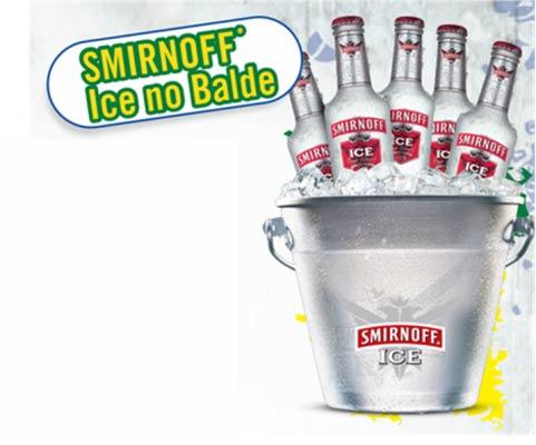 Balde de Smirnoff Ice