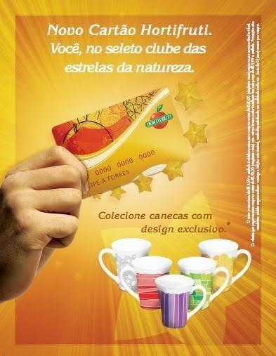 Publicidade Canecas Hortifruti