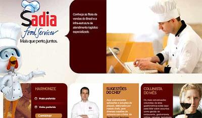 Sadia cria portal para food service