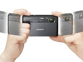 Novas câmeras digitais da Sony reproduzem efeito 3D