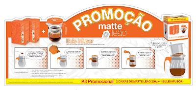 Matte leão faz kit promocional- MDM Brasil