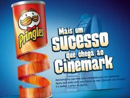 Pringles no Cinemark
