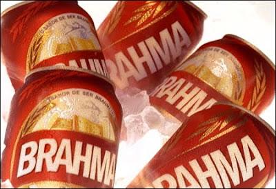A lata vermelha de Brahma
