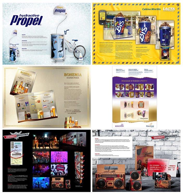 Mosaico  campanhas premiadas com medalhas de ouro 040bb64ae5236
