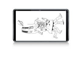 Volkswagen lança aplicativo no iPadVolkswagen lança aplicativo no iPad