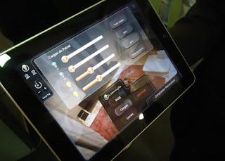 Feira mostra casa controlada por iPad