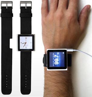 iPod agora também pode ser relógio