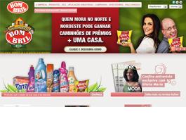 Bombril estreia novo site